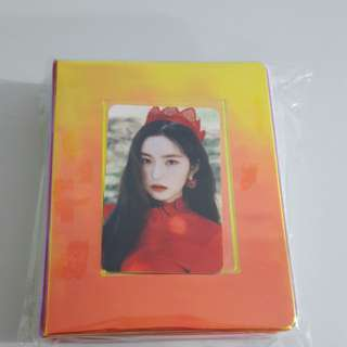 IRENE Photo Card Collect Book