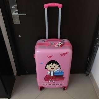 """櫻桃小丸子 24吋 24"""" 行李箱 旅行喼 TSA accepted luggage lock"""