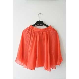 Not-So-Orange Short Skirt