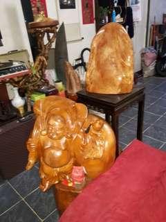 原木三義雕刻