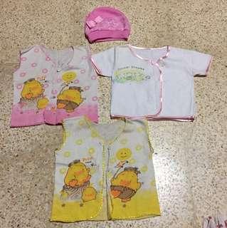Baju baby dan topi (take all)