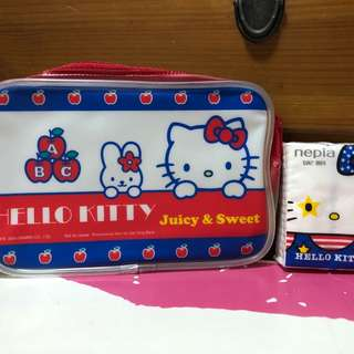 Hello Kitty相連膠袋