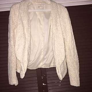 Liz claiborne ( tag removed) lace blazer
