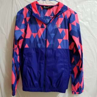 New Under Armour Water Resistant Girl Jacket, size: L Girl