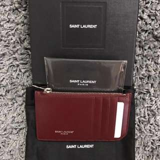 YSL Cardholder Red