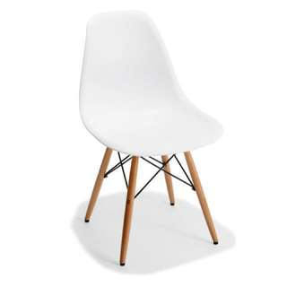 KMART WHITE CHAIR