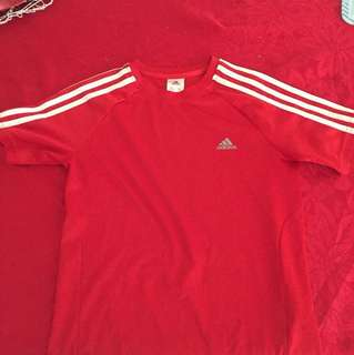 Adidas Red Climate Sport Shirt