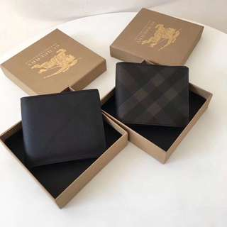 Burberry Men's Short Wallet Black