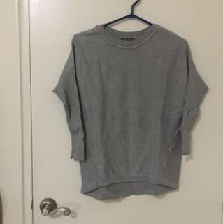 REDUCED!!Light grey sweater