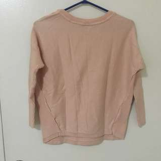 REDUCED!!Light pink sweater