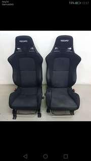 Original recaro seat