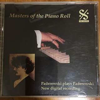 Paderewski - masters of the piano roll ( CD )