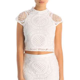 Tokito Lace Crop Top