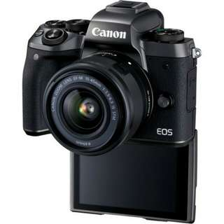 Kredit Canon EOS M5 Kit 15-45mm Mirrorless Proses 30 Menit