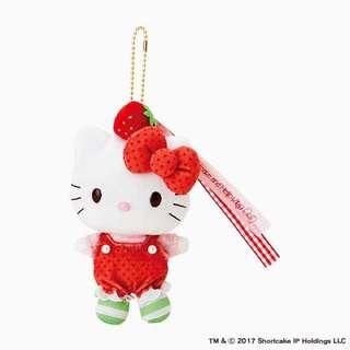 Sanrio Hello Kitty 及strawberry Shortcake公仔