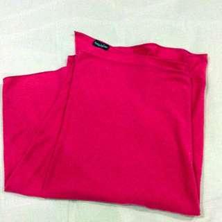 Hot Pink Naelofar Hijab