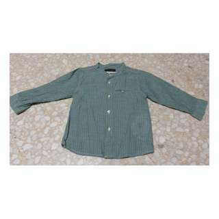 Zara baby boy long sleeves shirt