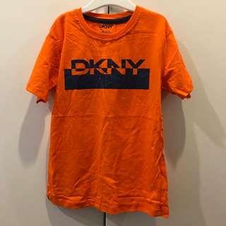 DKNY orange tshirt
