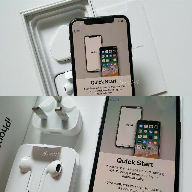 2018 sale! iPhone X 256GB in Space Grey with AppleCare+