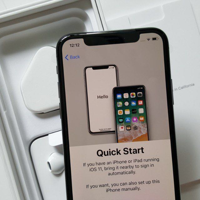 2018 sale! Space Grey iPhone X 256GB with AppleCare+ 10/10