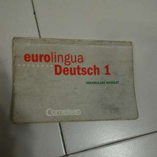 Eurolingua Deutsch 1 Vocabulary Booklet
