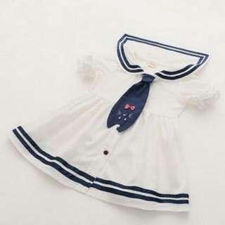 Girl Sailor dress