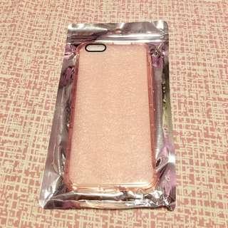 Transparent Pink Iphone 6+ Case