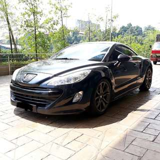 RCZ for rent