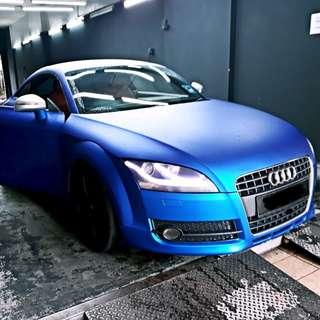 Audi TT for rent