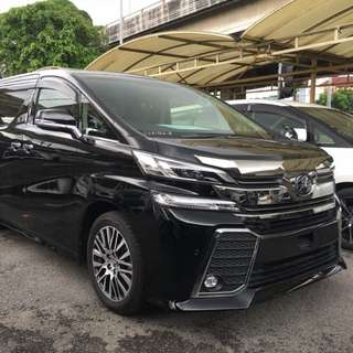 Vellfire robot for rent