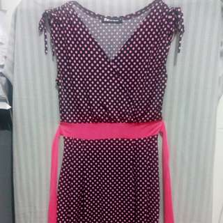 50's polkadot dress
