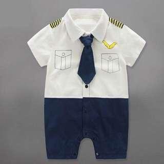 Pilot baby romper