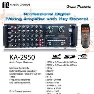 Martin Roland KA2950 Karaoke Set