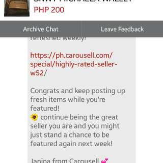 than you carousell😍