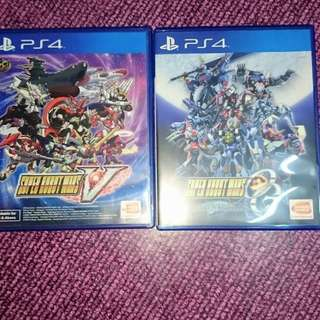 Used game super robot