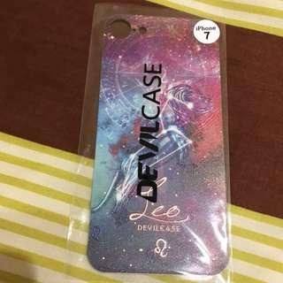 🚚 Devicase 惡魔 iphone7 背貼 保護貼 獅子座