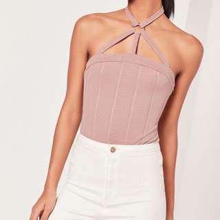 Missguided Harness Bodysuit