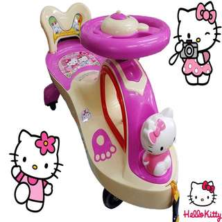 Hello Kitty Push & Pull Toy Slide Car