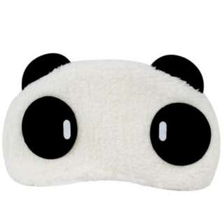 🆕 Cute Soft Fluffy Panda Sleeping Eye Mask