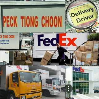Courier delivery/collection Drivers