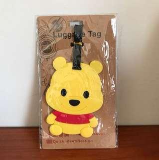 小熊維尼行李吊牌(全新)