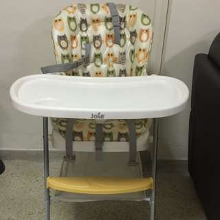 Joie Baby High Chair For Feeding