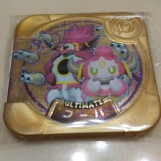 [包郵]pokemon tretta 寶可夢 神奇寶貝 機台  金卡 最終等級 胡帕 U4-XX