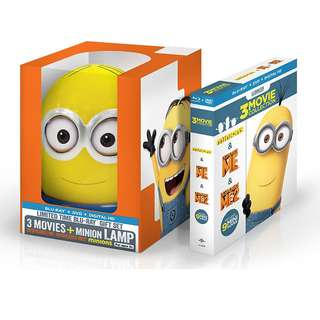 Despicable Me: 3-Movie Collection Limited Edition Blu-ray | Box Set