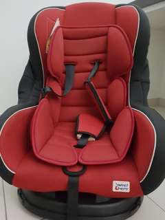 Sweet Cherry LB383 Cleo Carseat Red