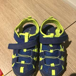 Carters kids sandal - almost brand new (size 8us)