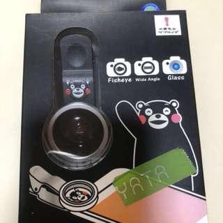 全新:Kumamon熊本熊廣角魚眼鏡