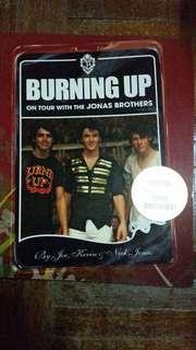 Burning Up tour with Jonas Brothers
