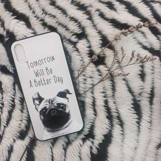 Gentleman Pug iPhone Case