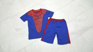 Spiderman shirt n short